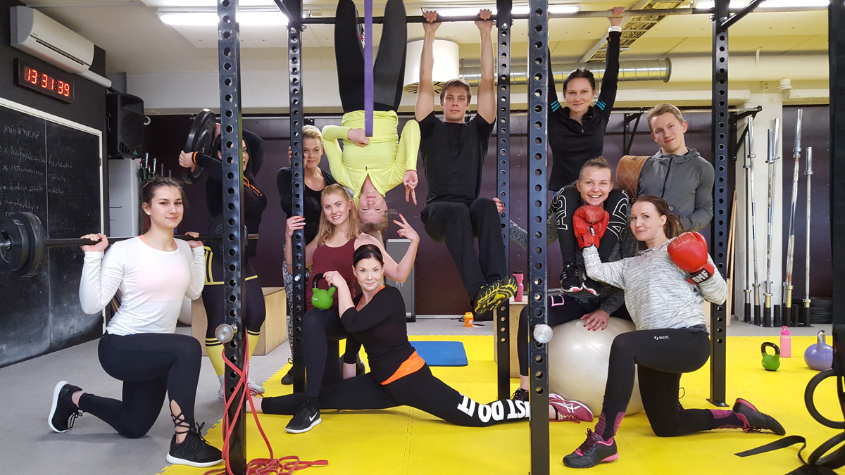 Liikuntakoulutuksen kautta ammattilaiseksi